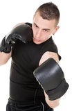 Uppercut punch Stock Image