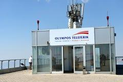 Upperstation of Mount Tahtali near Antalya, Turkey Stock Image