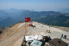 Upperstation of Mount Tahtali near Antalya, Turkey Royalty Free Stock Photo