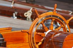 Upperworks of boat Royalty Free Stock Photography