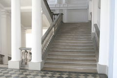 uppför trappan arkivbild