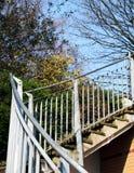 uppför trappan Royaltyfria Bilder