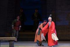 """Uppförande av en överlägsen vara-Shanxi Operatic""""Fu Shan till Beijing† Royaltyfri Bild"""