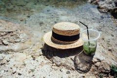 Uppfriskande coctailar för sommar med mintkaramellen Royaltyfri Bild