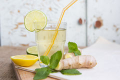 Uppfriskande drink Arkivbilder