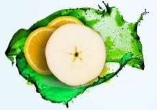 Uppfriskande fruktsaft Royaltyfri Bild