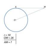 Uppgiften av att finna avståndet f.m. Fotografering för Bildbyråer