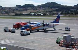 uppgiftsflygplats tenerife fotografering för bildbyråer