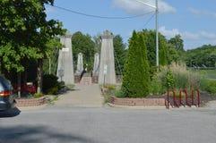 Upphängningbro för general Dekan Arkivbild