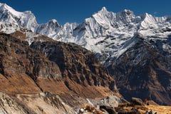 upphöjda berg Arkivfoton