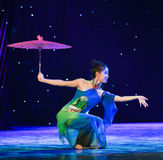 Uppkomsten av Reiki orm-kines den klassiska dansen Arkivbild