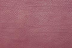Upplösning för yttersida för textur för rosa färgläderbakgrund hög Fotografering för Bildbyråer
