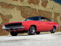 Uppladdare RT för 1968 Dodge Fotografering för Bildbyråer