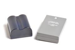 Uppladdningsbara batterier Fotografering för Bildbyråer