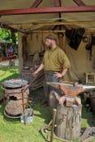 upplaga 21 av den medeltida marknaden av Etterbeek royaltyfri fotografi