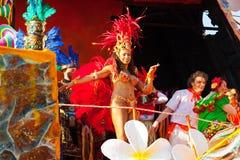 140. upplaga av karnevalet av Viareggio Royaltyfria Bilder