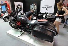 4. upplaga av MOTO-SHOWEN i Cracow Polen Royaltyfri Fotografi