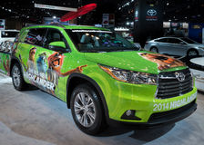 Upplaga 2014 för Toyota högländareMuppets Arkivfoto