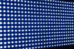Upplyst elasticitet av LED ljus stock illustrationer