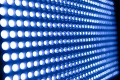 Upplyst elasticitet av LED ljus vektor illustrationer