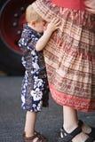 uppmärksamhet som får moms Royaltyfria Bilder