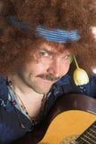uppnosig hippie Arkivfoto