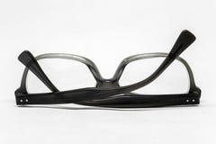 Uppochnervända vikta exponeringsglas Arkivfoton
