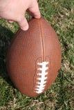 upprätt amerikansk fotboll Arkivbild