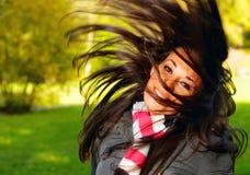 uppröra för hår Fotografering för Bildbyråer