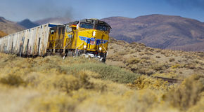 UPPR Freight Train Royalty Free Stock Photography