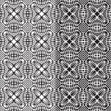 Upprepa geometriska tegelplattor Royaltyfria Bilder