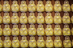 Upprepande Buddha Arkivfoto