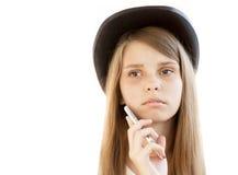 upprivet barn för flicka Fotografering för Bildbyråer