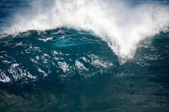 upprorisk wave Royaltyfri Foto