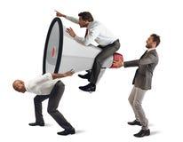uppsätta som mål marketing Arkivbild