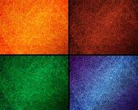 Uppsättning av randiga bakgrunder för abstrakt begrepp Arkivfoton