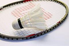 Uppsättning av badminton Arkivbild