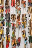 Uppsättning av den traditionella handen - gjorda skor Royaltyfri Foto