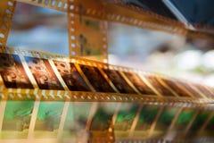 Uppsättning av filmer Royaltyfria Bilder
