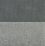 Uppsättning av gråa texturer Royaltyfri Bild