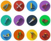 Uppsättning av hjälpmedelsymboler Arkivbilder