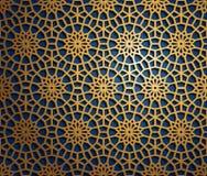 Uppsättning av islamiska orientaliska modeller, sömlös arabisk geometrisk prydnadsamling Traditionell muslimbakgrund för vektor royaltyfria foton