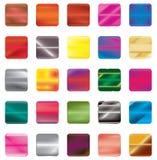 Uppsättning av lutningknappsymboler för din design stock illustrationer