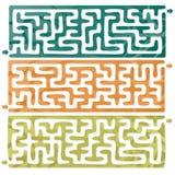 Uppsättning av Maze Fotografering för Bildbyråer