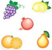 Smakliga frukter Fotografering för Bildbyråer