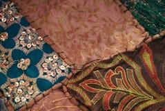 Uppsättning av olika orientaliska mattor Royaltyfria Bilder