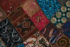 Uppsättning av olika orientaliska mattor Royaltyfri Fotografi