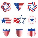 Uppsättning av olikt som göras i de USA diagrammen och etiketterna Fotografering för Bildbyråer