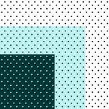 Uppsättning av prickar abstrakt bakgrundsprickar geometrisk abstraktion Royaltyfria Bilder