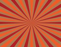 Uppsättning av randiga bakgrunder med röda och apelsinband Royaltyfri Fotografi